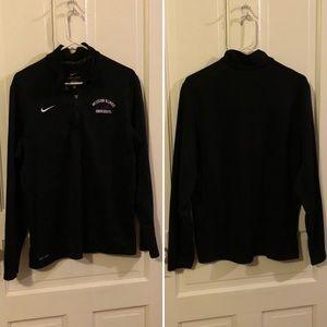 Nike Western Illinois U dri-fit sweatshirt, EUC